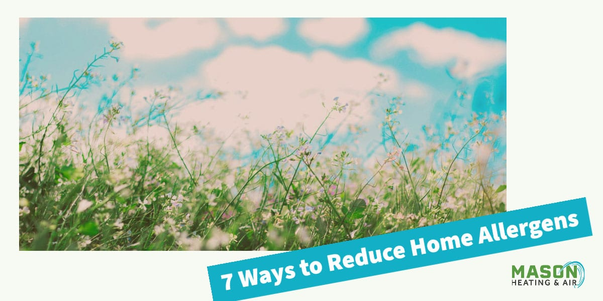7 Ways to Reduce Home Allergens - Indoor Air Quality