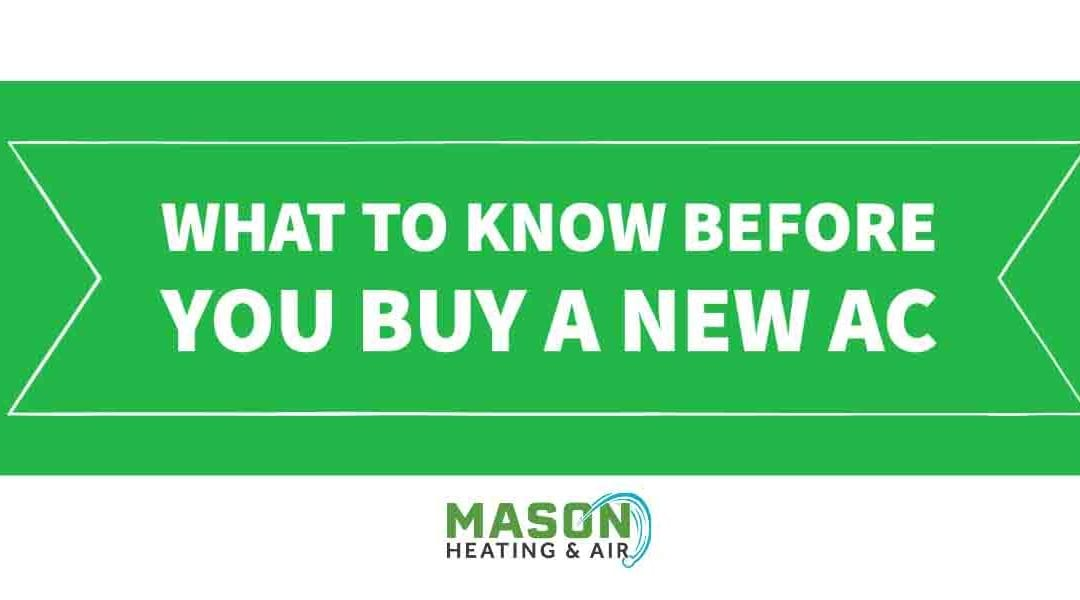 What to Know Before You Buy A New Air Conditioner