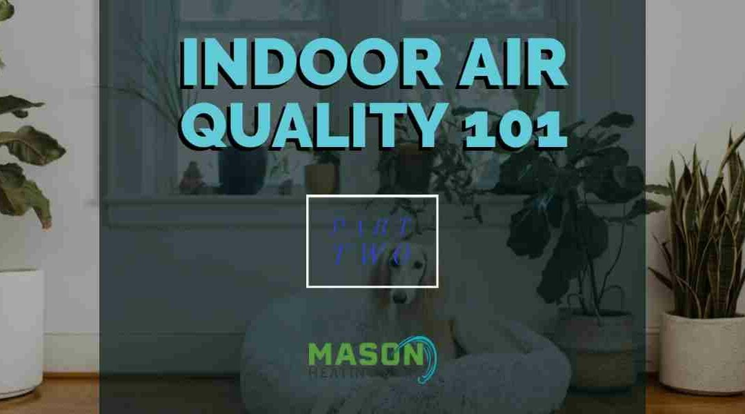 Indoor Air Quality 101 – Part 2: Types of Indoor Air Pollution and Their Effects